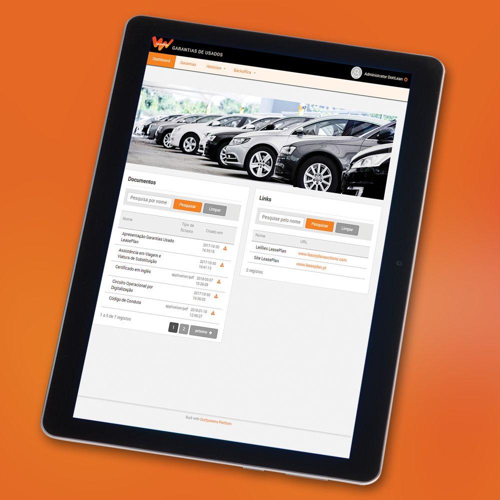 Solution Vehicle Warranty Certificate App